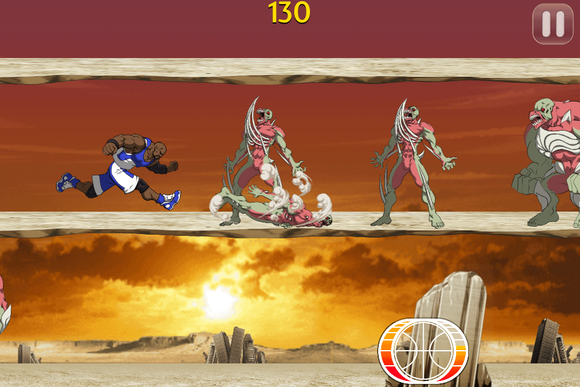 Shaqdown iOS game