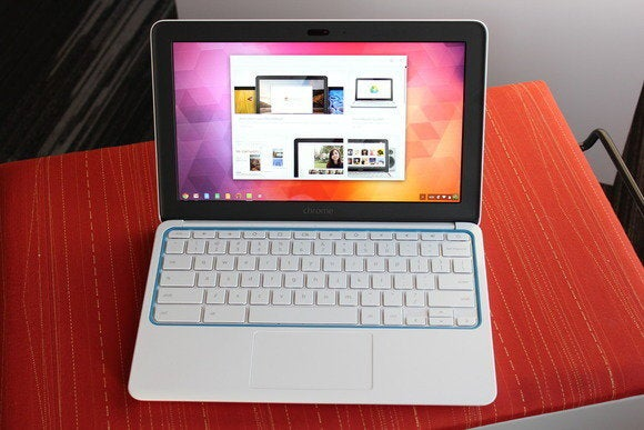 The H.P. Chromebook eleven returns to store shelves