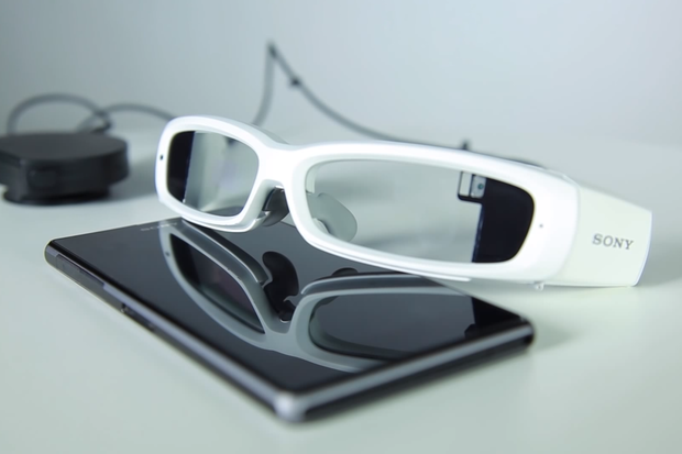 Sony shows SmartEyeglass prototype to developers
