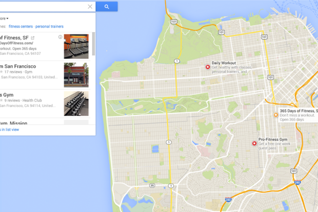 New Google Maps ads blend in