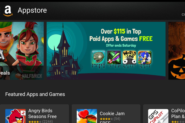 Amazon Appstore is throwing a