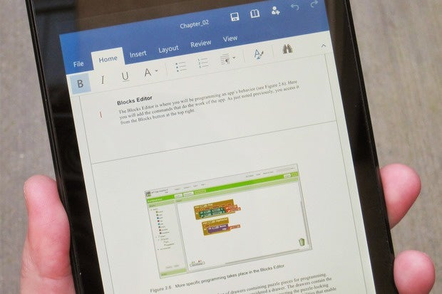 Hands-on with Office for