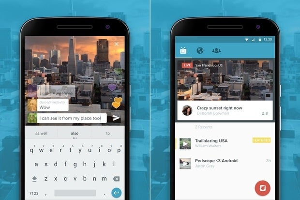 Twitter takes Periscope's live