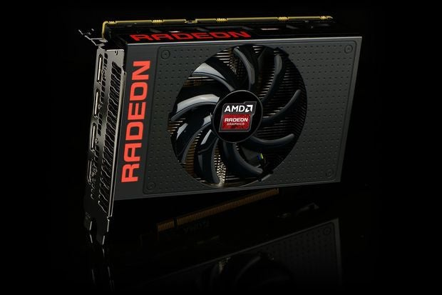 First look: AMD Radeon R9 Nano compared to the Fury, a tiny GTX 970, and a pencil