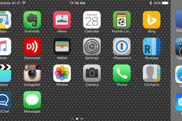 How to turn off (or turn on) landscape mode on the iPhone 6/6s Plus and iPhone 7 Plus home screen