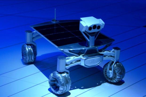 Audi's Lunar Rover Lands In Detroit