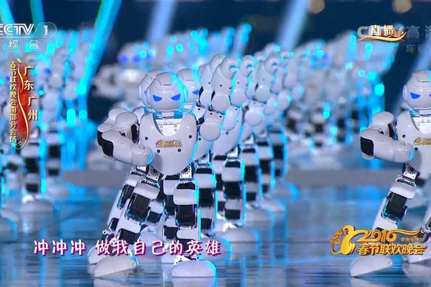 Watch hundreds of robots and