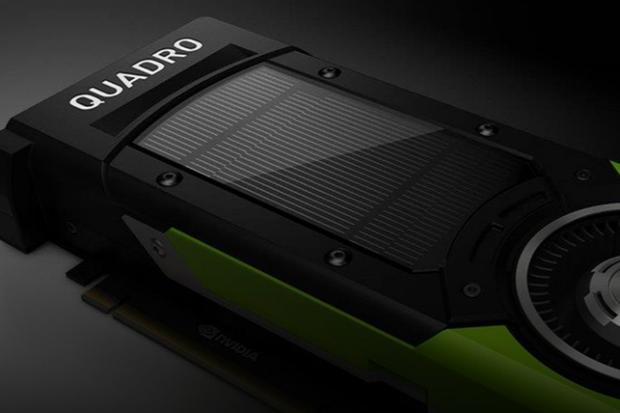 Nvidia's Quadro P6000 GPU packs 24GB of RAM and can drive four 4K screens at 120Hz
