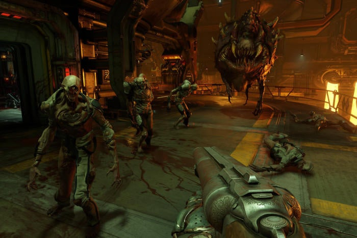 Doom's free DLC unleashes hell on hard drives as a ludicrously large update