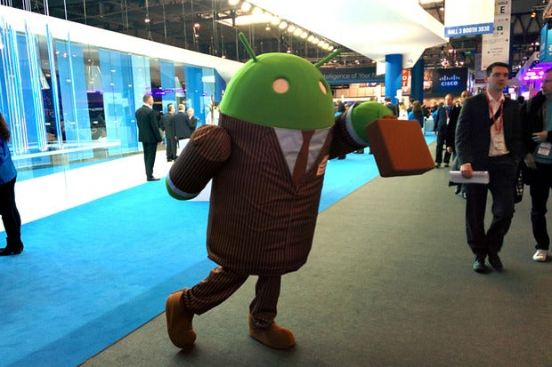 Android Is Ousting <strong>Windows</strong> From Its Last Mobile Bastion