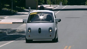 US regulator coming around to view that a Google computer could qualify as car driver